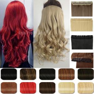 Extra-largas-gruesas-Clip-en-extensiones-de-cabello-27-Curly-ondulado-100-Real-Natural-extensiones-de